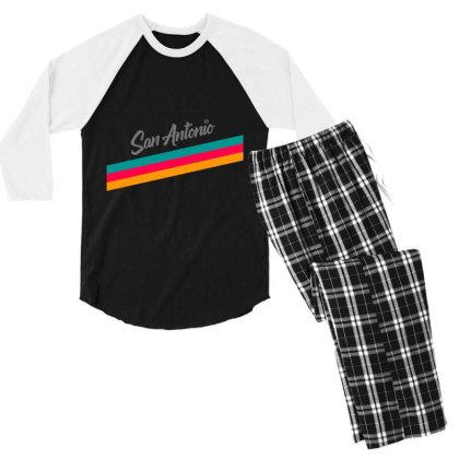Fiesta City Jersey 2021 Classic T Shirt Men's 3/4 Sleeve Pajama Set Designed By Moon99