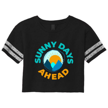 Sunny Days Ahead Classic T Shirt Scorecard Crop Tee Designed By Moon99
