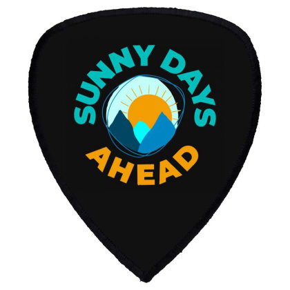 Sunny Days Ahead Classic T Shirt Shield S Patch Designed By Moon99