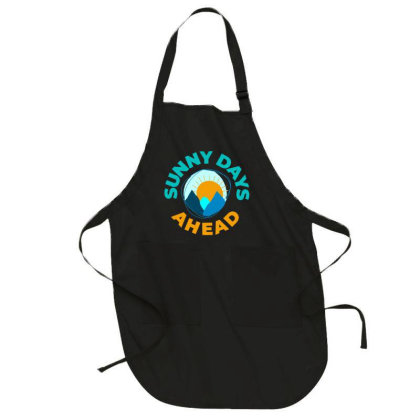 Sunny Days Ahead Classic T Shirt Full-length Apron Designed By Moon99