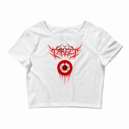 Target Logo Classic T Shirt Crop Top Designed By Moon99