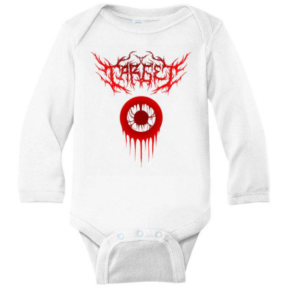Target Logo Classic T Shirt Long Sleeve Baby Bodysuit Designed By Moon99