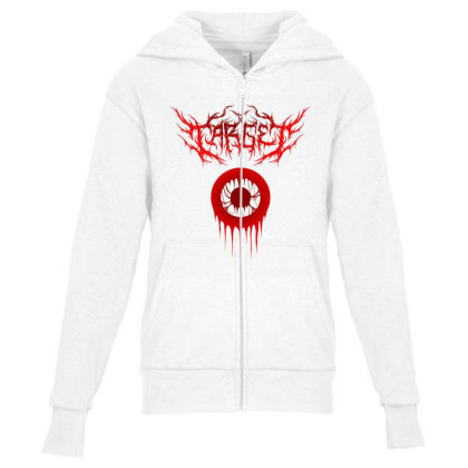 Target Logo Classic T Shirt Youth Zipper Hoodie Designed By Moon99