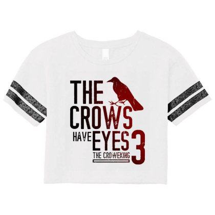 The Crows Have Eyes 3 Classic T Shirt Scorecard Crop Tee Designed By Moon99
