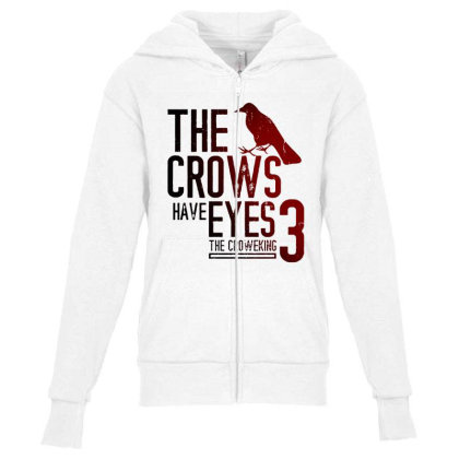The Crows Have Eyes 3 Classic T Shirt Youth Zipper Hoodie Designed By Moon99