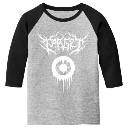 Target Logo T Shirt Youth 3/4 Sleeve Designed By Moon99