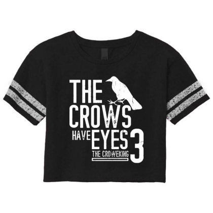 The Crows Have Eyes 3  T Shirt Scorecard Crop Tee Designed By Moon99