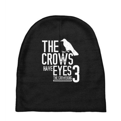The Crows Have Eyes 3  T Shirt Baby Beanies Designed By Moon99
