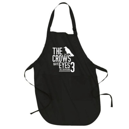 The Crows Have Eyes 3  T Shirt Full-length Apron Designed By Moon99