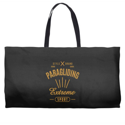 Paragliding - Extreme Sport Gift Weekender Totes Designed By Cidolopez