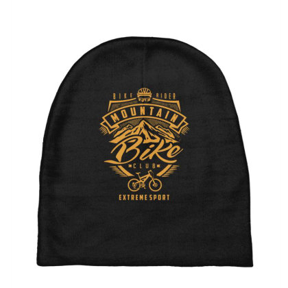 Mountain Bike - Extreme Sport Gift Baby Beanies Designed By Cidolopez