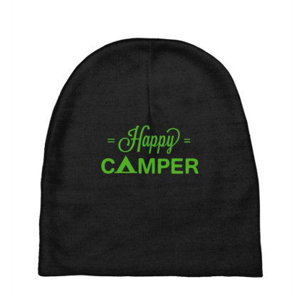 Happy Camper Baby Beanies Designed By Kahvel