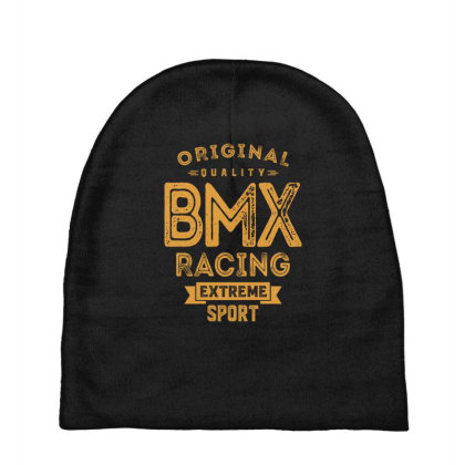 Bmx Racing - Extreme Sport Gift Baby Beanies Designed By Cidolopez