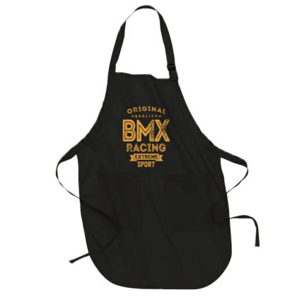 Bmx Racing - Extreme Sport Gift Full-length Apron Designed By Cidolopez