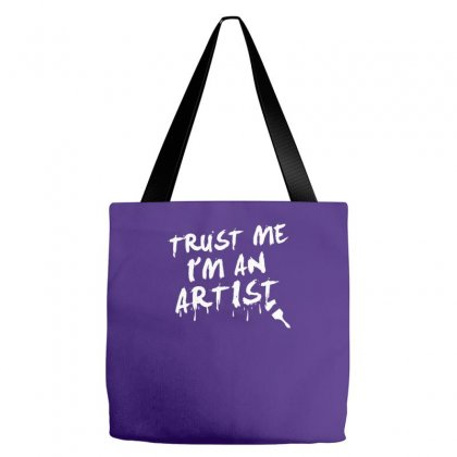 Trust Me I'm An Artist Tote Bags Designed By Tonyhaddearts