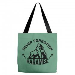 Never Forgotten Harambe Tote Bags | Artistshot