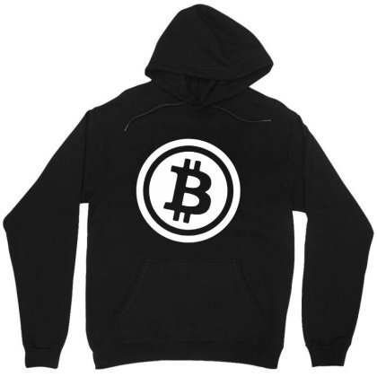 Bitcoin Logo Unisex Hoodie Designed By Rosdiana Tees