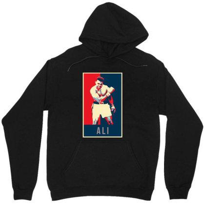 Pop Art Boxer Unisex Hoodie Designed By Alpha Art