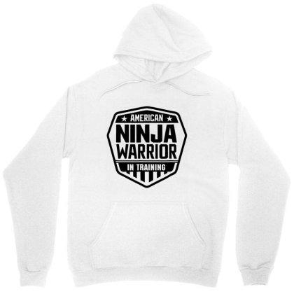 American Ninja In Training Unisex Hoodie Designed By Rosdiana Tees