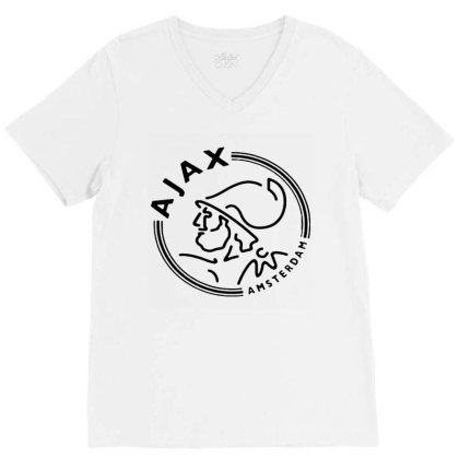 Ajax, Amsterdam V-neck Tee Designed By Hot Trends