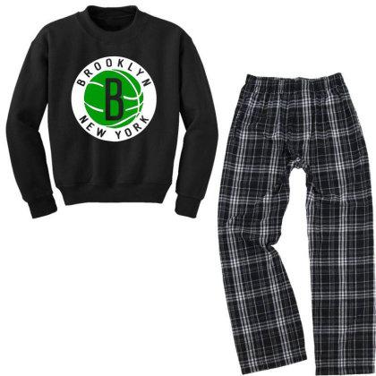 Brooklyn Youth Sweatshirt Pajama Set Designed By 4905 Designer