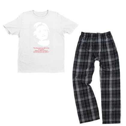 Hillary Clinton Quote Youth T-shirt Pajama Set Designed By 4905 Designer