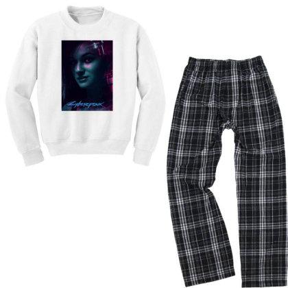 2077 Judy Youth Sweatshirt Pajama Set Designed By Hot Trends