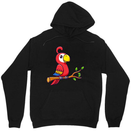 A Parrot Unisex Hoodie Designed By Hot Trends