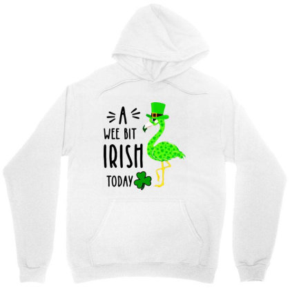 A Wee Bit Irish Today Unisex Hoodie Designed By Rosdiana Tees