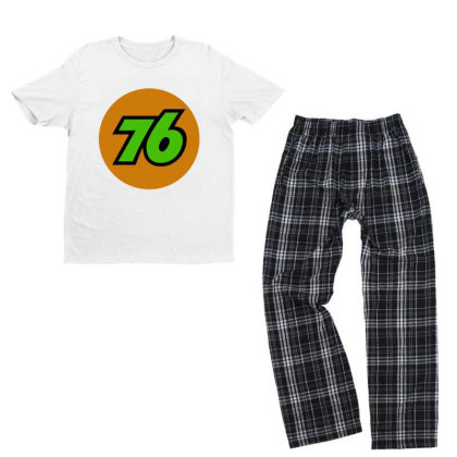 76 Oil Union Vintage Youth T-shirt Pajama Set Designed By Hot Trends