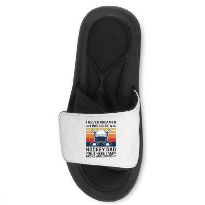 Hockey Dad Slide Sandal Designed By Alpha Art