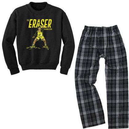 Alysha Clark The Eraser Youth Sweatshirt Pajama Set Designed By Rosdiana Tees