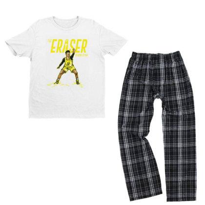 Alysha Clark The Eraser Youth T-shirt Pajama Set Designed By Rosdiana Tees
