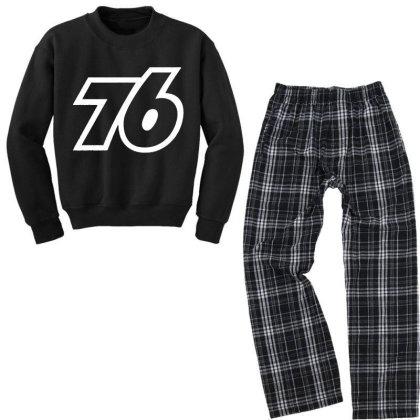 76 Youth Sweatshirt Pajama Set Designed By Hot Trends
