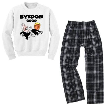 American Election Youth Sweatshirt Pajama Set Designed By Rosdiana Tees