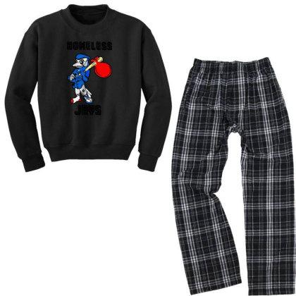 Apologize For Wearing Homeless Jays Youth Sweatshirt Pajama Set Designed By Rosdiana Tees
