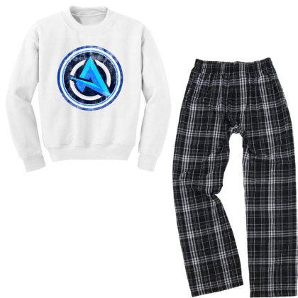 New Ali Logo Youth Sweatshirt Pajama Set Designed By 4905 Designer