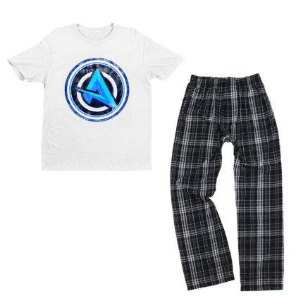 New Ali Logo Youth T-shirt Pajama Set Designed By 4905 Designer