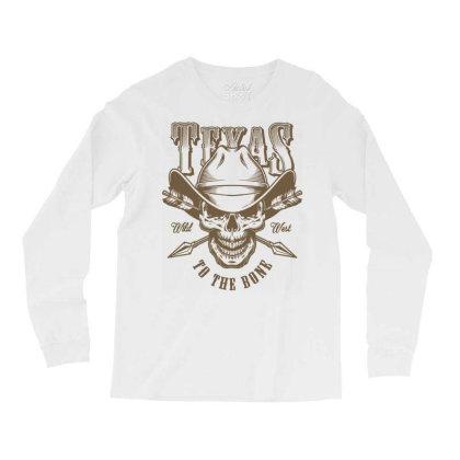 Texas Wild West Usa Long Sleeve Shirts Designed By Designisfun