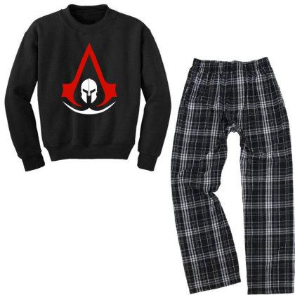 New Assassins Creed Odyssey Youth Sweatshirt Pajama Set Designed By 4905 Designer