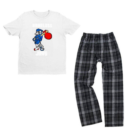 Apologize For Wearing Homeless Jays Youth T-shirt Pajama Set Designed By Rosdiana Tees