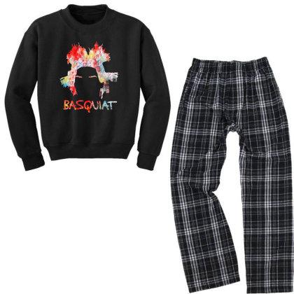 New Basquiat Youth Sweatshirt Pajama Set Designed By 4905 Designer