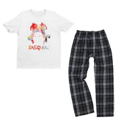 New Basquiat Youth T-shirt Pajama Set Designed By 4905 Designer