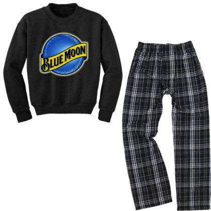 New Blue Moon Youth Sweatshirt Pajama Set Designed By 4905 Designer