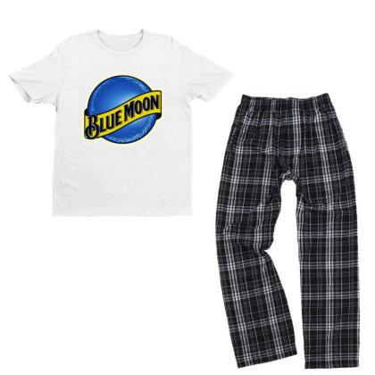 New Blue Moon Youth T-shirt Pajama Set Designed By 4905 Designer