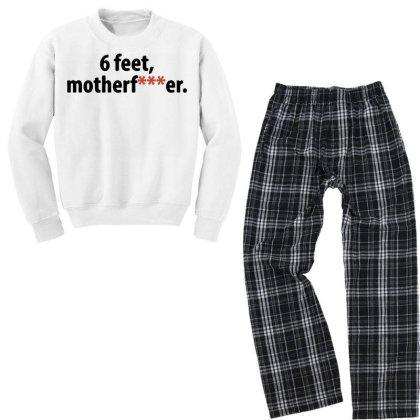 6 Seet Youth Sweatshirt Pajama Set Designed By Hot Trends