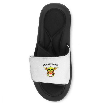 Baby Yoda Chicky Nuggies Slide Sandal Designed By Rosdiana Tees