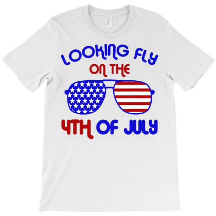 4th Of July Looking Fly Aviator T-shirt Designed By Hot Trends