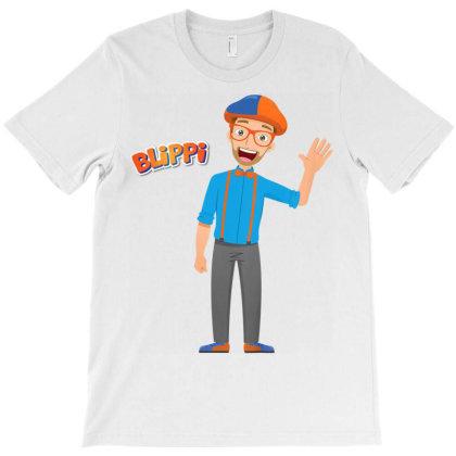 Blippi Blippi Kids Cartoon Blippi T Shirt T-shirt Designed By Ryan2204