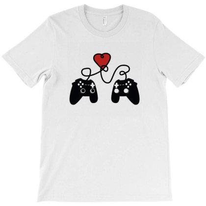 Love Gamepad T-shirt Designed By Fahmifutri